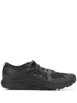 Satisfy Sneakers met mesh (zwart)