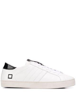 D.A.T.E. Sneakers met logo (wit)