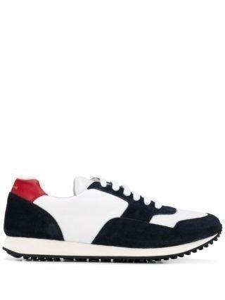 Car Shoe Sneakers met panelen (wit)