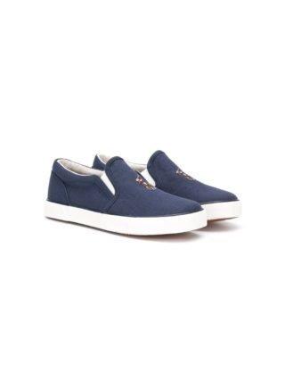 Ralph Lauren Kids Instap sneakers (blauw)