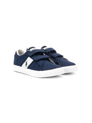 Ralph Lauren Kids Sneakers met bandje (blauw)