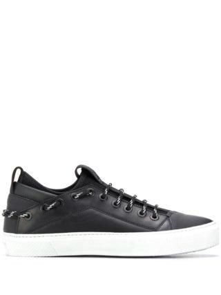 Bruno Bordese Sneakers met veters (zwart)
