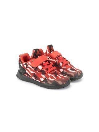 Adidas Kids RapidaRun Spider Man sneakers (rood)
