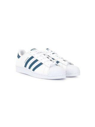 Adidas Kids TEEN Superstar J sneakers (wit)