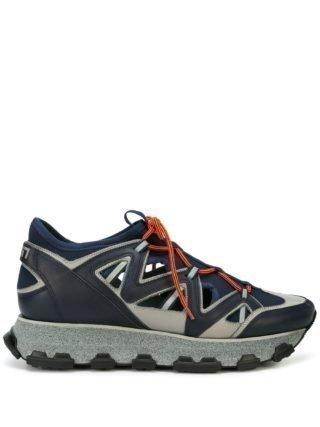 Lanvin Lightning low-top sneakers (blauw)