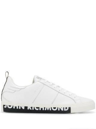 John Richmond Low-top sneakers (wit)
