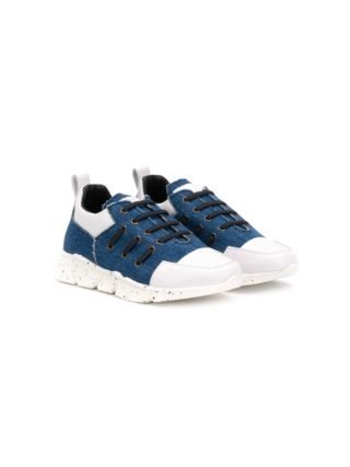 Gallucci Kids Denim sneakers (blauw)
