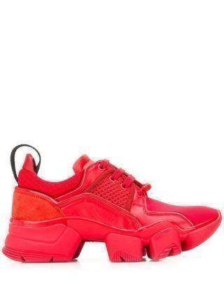 Givenchy Sneakers met plateauzool (rood)