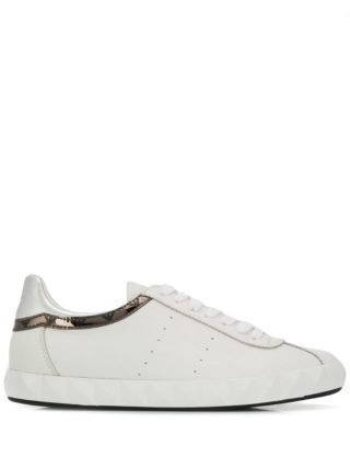 Emporio Armani Metallic sneakers - Wit