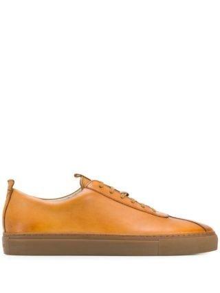 Grenson Classic low-top sneakers (bruin)
