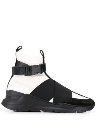 Balmain High top soksneakers (zwart)