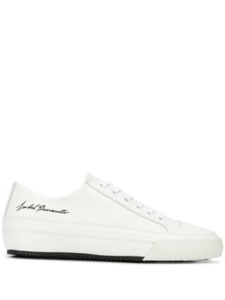 Isabel Benenato signature logo sneakers (wit)