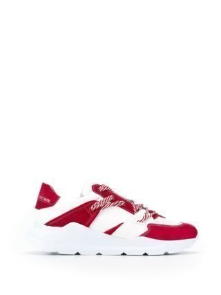 Leather Crown Chunky sneakers (rood)