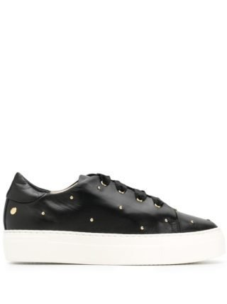 Agl rounded stud sneakers (zwart)