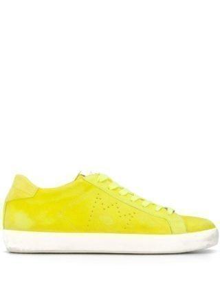 Leather Crown Low-top sneakers (geel)