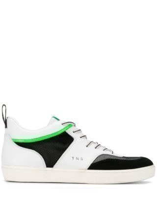Leather Crown Low-top sneakers (wit)