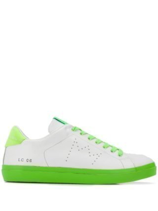Leather Crown Iconic sneakers - Wit