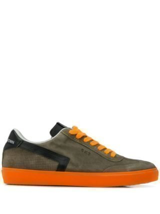 Leather Crown Low-top sneakers (groen)