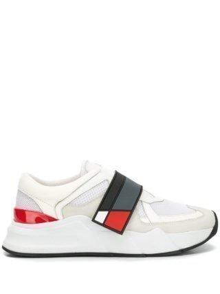 D.Gnak logo strap sneakers (wit)