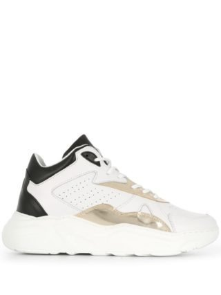 D.A.T.E. Sneakers met pand (wit)