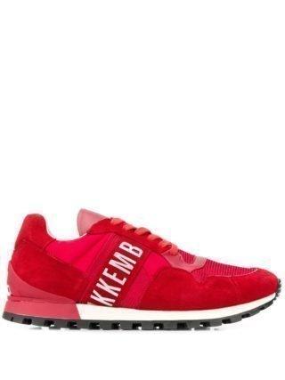 Dirk Bikkembergs brand lo-top sneakers (rood)