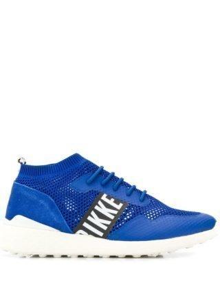 Dirk Bikkembergs sock styled sneakers (blauw)