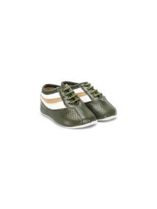 Sonatina Kids stripe print sneakers (groen)