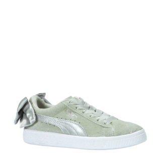 Puma Suède Bow AC PS sneakers grijsgroen (groen)