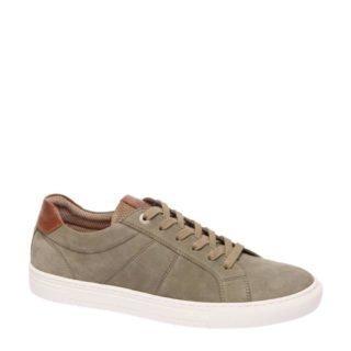 vanHaren AM SHOE suède sneakers (groen)