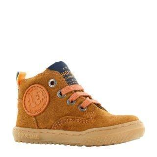 Shoesme suède sneakers cognac (bruin)