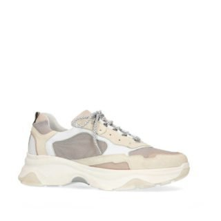 Sacha dad sneakers wit/beige (wit)
