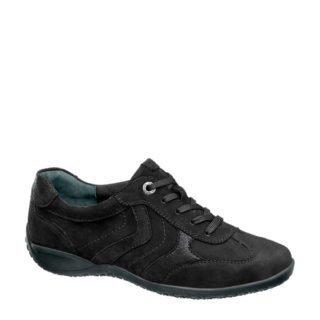 vanHaren Medicus nubuck sneakers zwart (zwart)