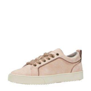 ESPRIT sneakers met glitters oudroze (roze)