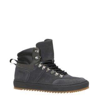 Mexx suède sneakers grijs (grijs)
