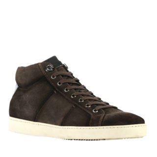 Giorgio 1958 suède sneakers bruin (heren) (bruin)