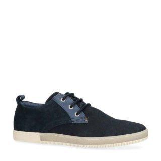 Manfield sneakers donkerblauw (heren) (blauw)