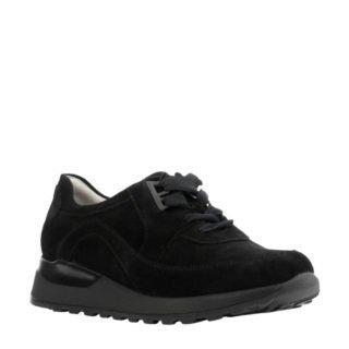 Waldlaufer suède sneakers zwart (zwart)