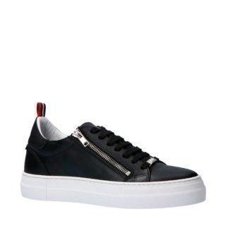 Antony Morato leren sneakers wit (zwart)