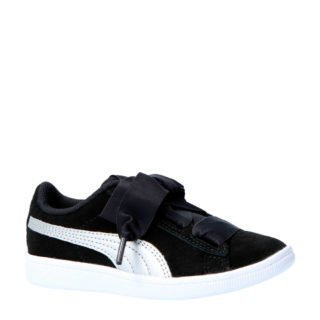 Puma Vikky Ribbon AC PS suède sneakers (zwart)