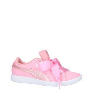Puma Vikky Ribbon L Satin Jr sneakers (roze)