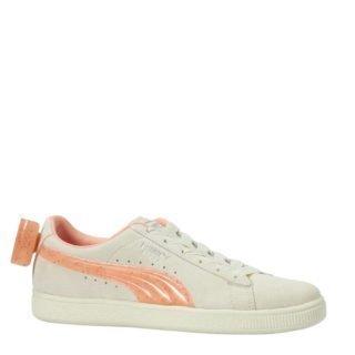 Puma Suede Bow Jelly Jr sneakers wit/oranje (wit)
