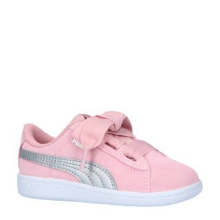 Puma Vikky Ribbon AC INF suède sneakers (roze)