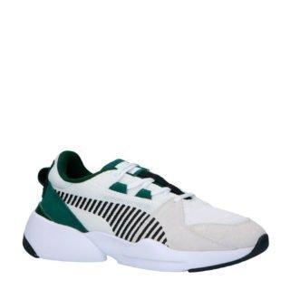 Puma Zeta Suede sneakers wit/groen (wit)