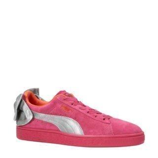 Puma Suède Bow AC PS sneakers fuchsia (roze)