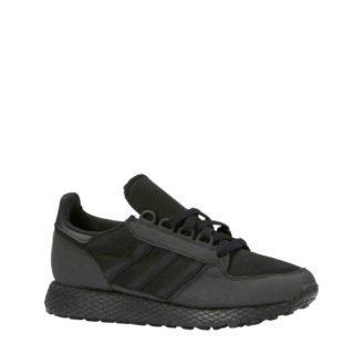 adidas originals Forest Grove J suède sneakers zwart (zwart)