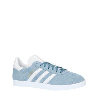 adidas originals Gazelle sneakers grijsblauw/wit (grijs)