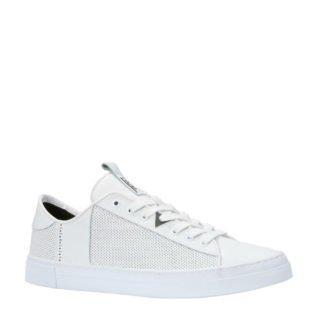 Hub leren sneakers wit (wit)