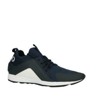 HUGO Hybrid Runn sneakers donkerblauw (blauw)