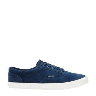 Jack & Jones JFWVISION SUEDE NAVY BLAZER sneakers donkerblauw (blauw)