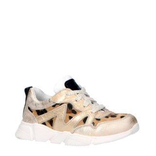 JOCHIE&FREAKS sneakers panter (goud)